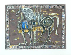 The Trojan Horse serigraph Bruno Zupan