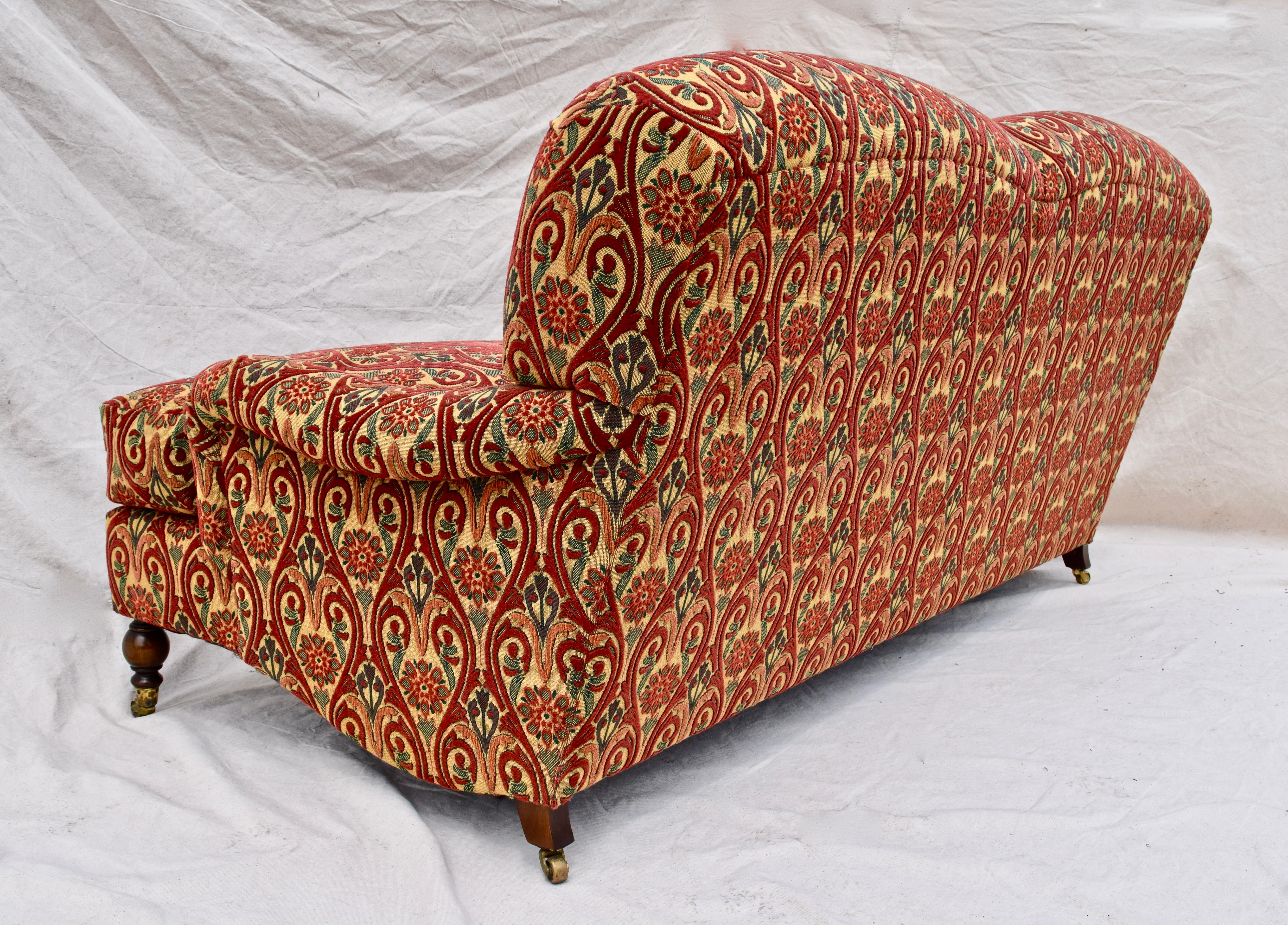 Brunschwig And Fils English Sofa On Casters For At 1stdibs