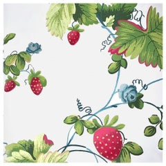 Brunschwig & Fils Historic Deerfield Massachusetts Berries A La Mode Wallpaper