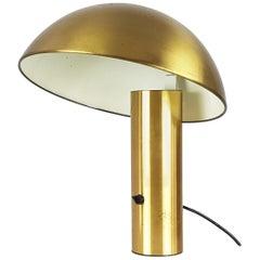 Brushed Brass Vaga Table Lamp by Franco Mirenzi for Valenti, 1978
