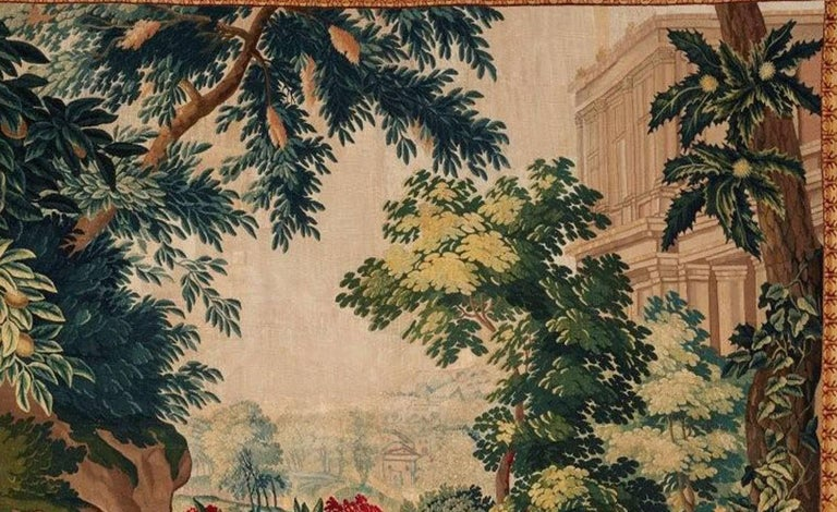 Hand-Woven Brussels 18th Century Bacchanale Tapestry, circa 1760 For Sale