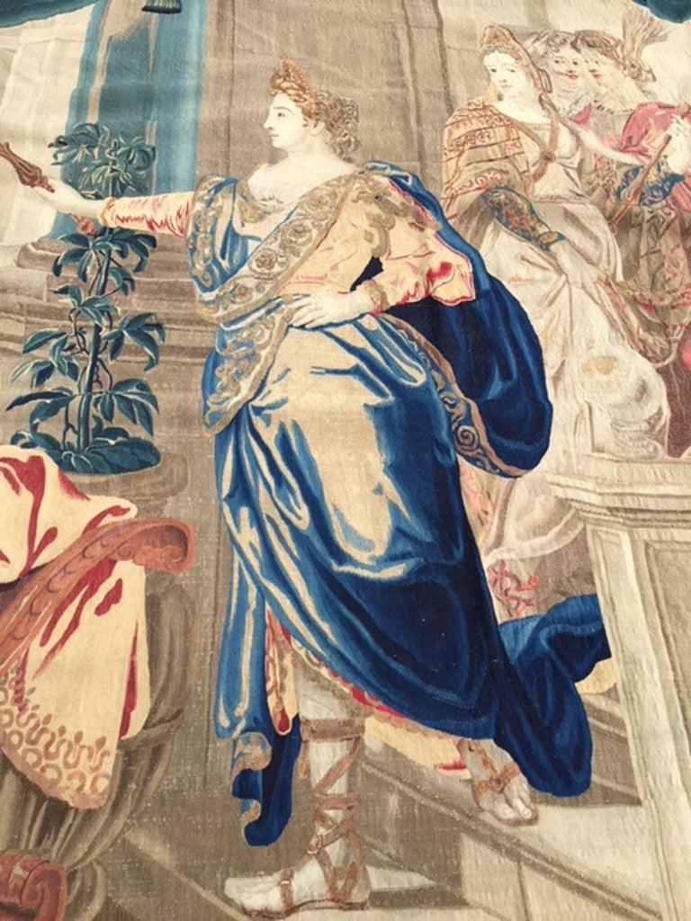 Brussels Late 17th Century Tapestry Asia from a Four Continents Series For Sale 5