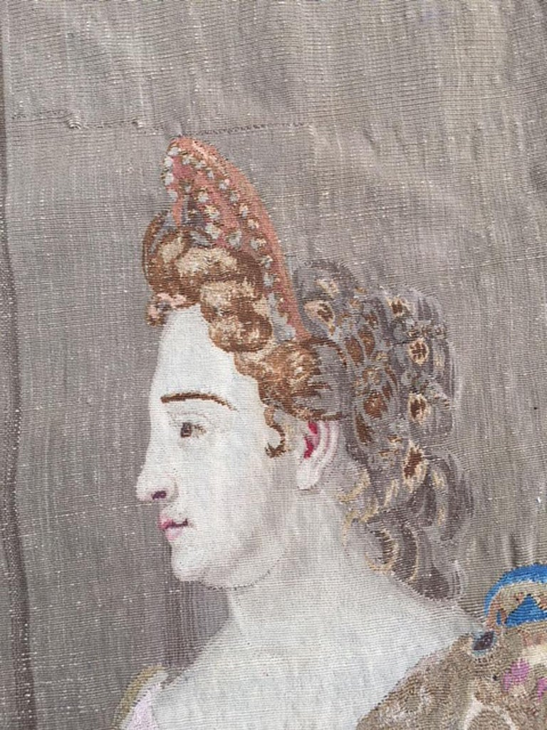 Brussels Late 17th Century Tapestry Asia from a Four Continents Series For Sale 6