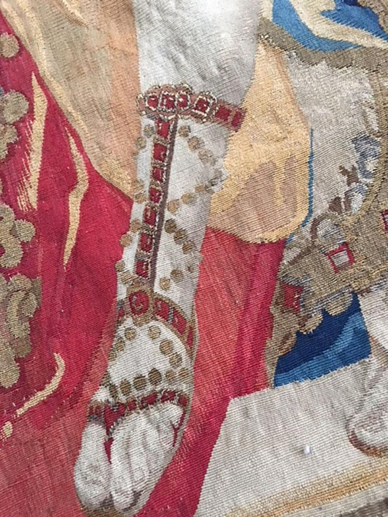 Brussels Late 17th Century Tapestry Asia from a Four Continents Series For Sale 9