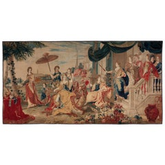 Brussels Late 17th Century Tapestry Asia from a Four Continents Series, ca. 1670