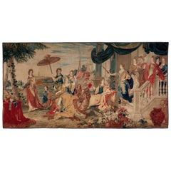 Brussels Late 17th Century Tapestry Asia from a Four Continents Series
