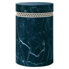 contemporary marble stool or side table, brut 01.1 c by barh