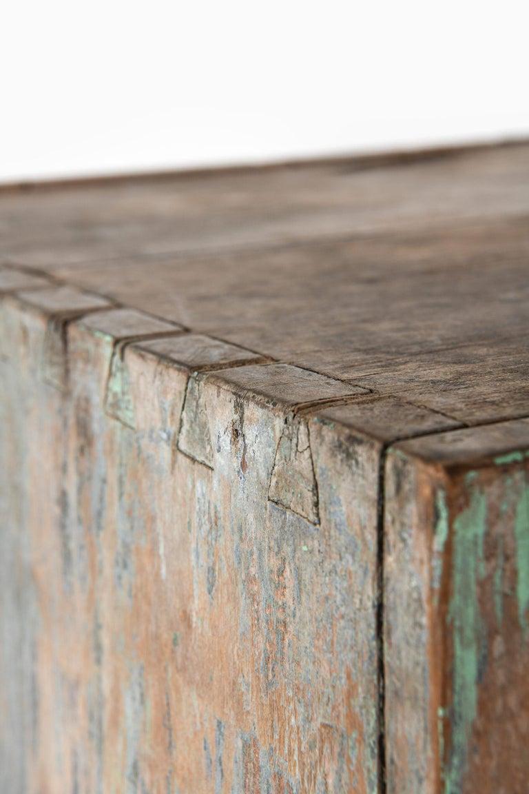 Brutalist Cabinet by Unknown Designer For Sale 4