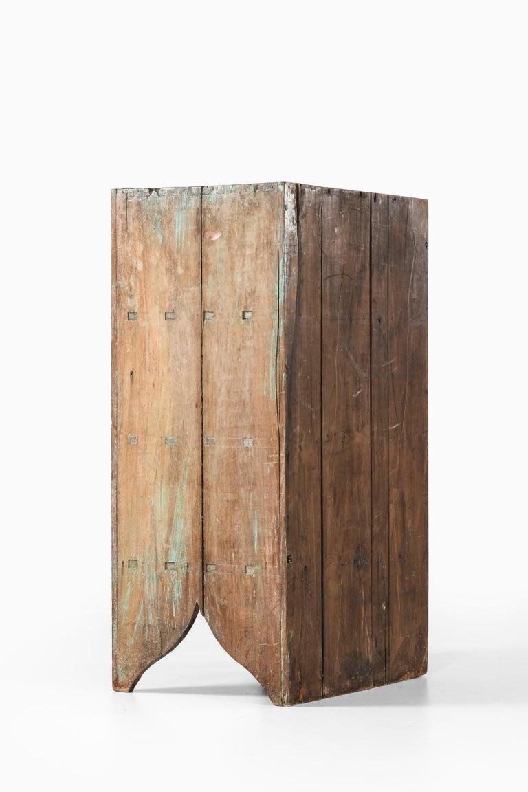 Brutalist Cabinet by Unknown Designer For Sale 5