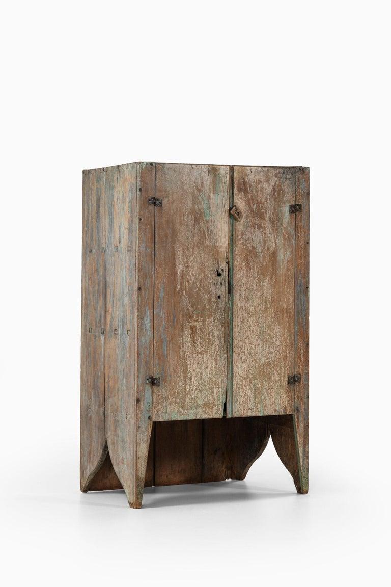 Brutalist Cabinet by Unknown Designer For Sale 6