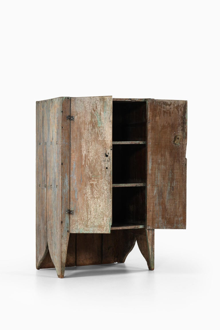 Brutalist Cabinet by Unknown Designer For Sale 1