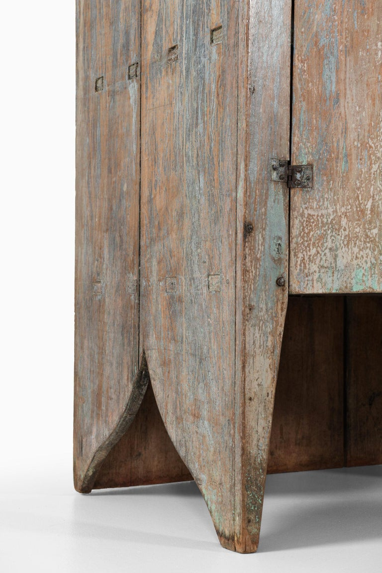 Brutalist Cabinet by Unknown Designer For Sale 2
