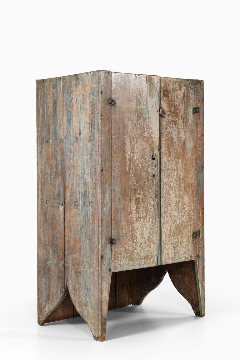 Brutalist Cabinet by Unknown Designer For Sale 3