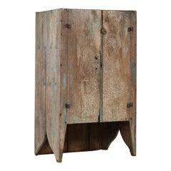 Brutalist Cabinet by Unknown Designer