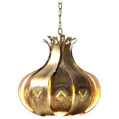 Brutalist Ceiling Lamp by Svend Aage Holm-Sørensen, 1960s