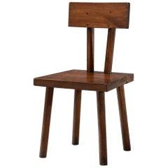 Brutalist Chair, France, circa 1950s