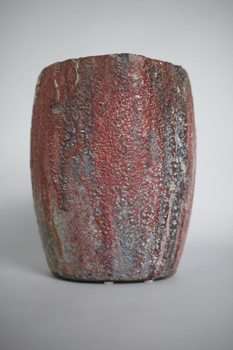 Brutalist Crucible Pot Planter For Sale 3