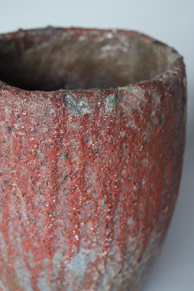 Brutalist Crucible Pot Planter For Sale 2