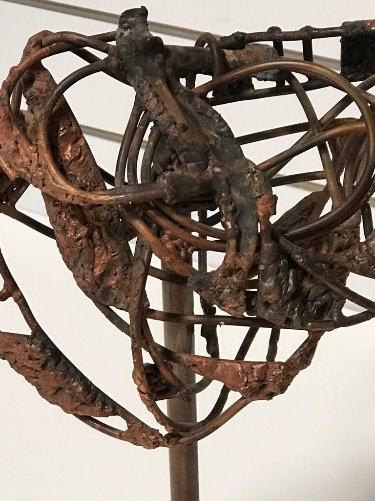 Modern Brutalist George Mullen Sculpture