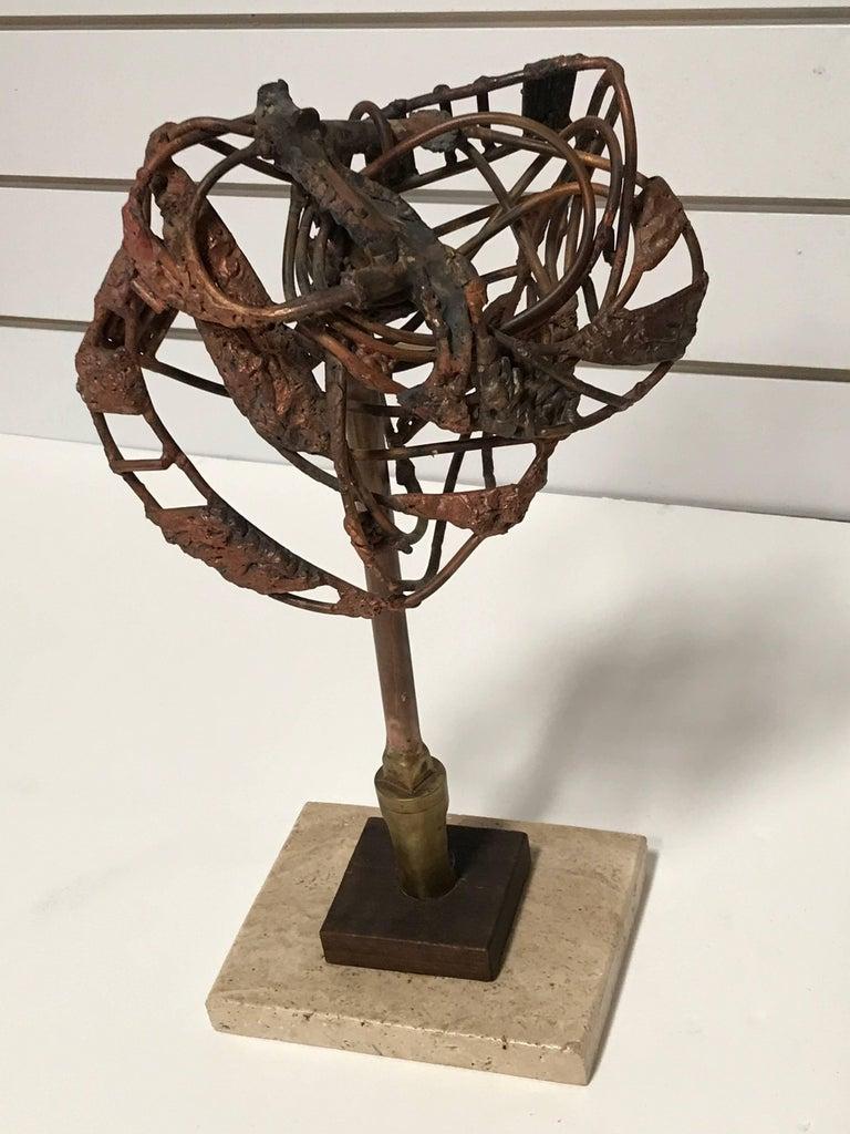 American Brutalist George Mullen Sculpture