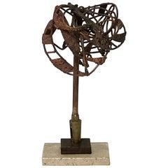 Brutalist George Mullen Sculpture