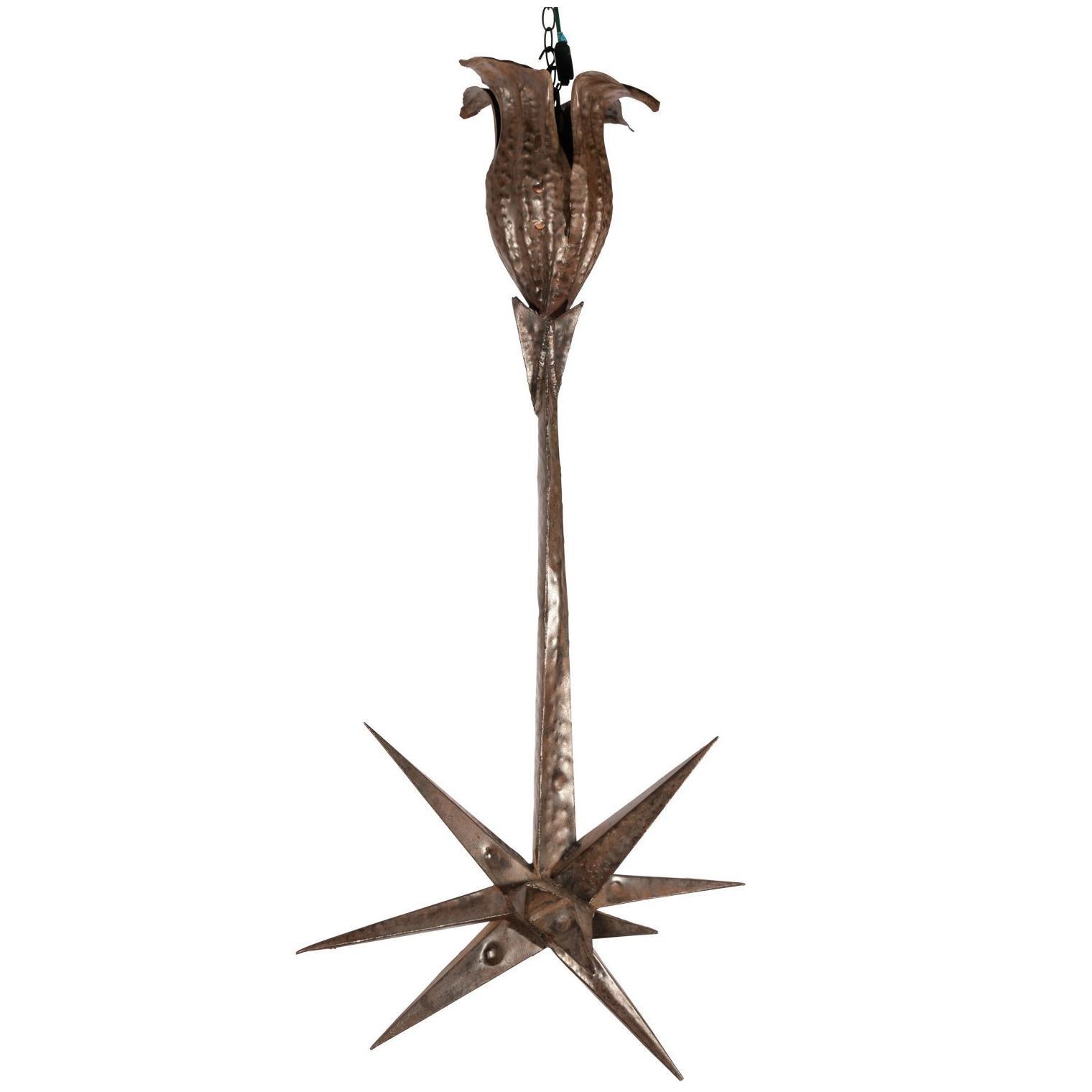 Brutalist Hanging Sculpture