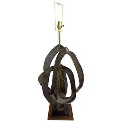 Brutalist Lamp by Balmer for Laurel