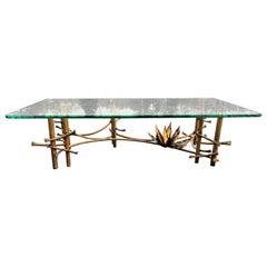 Brutalist Lotus Coffee Table by Silas Seandel