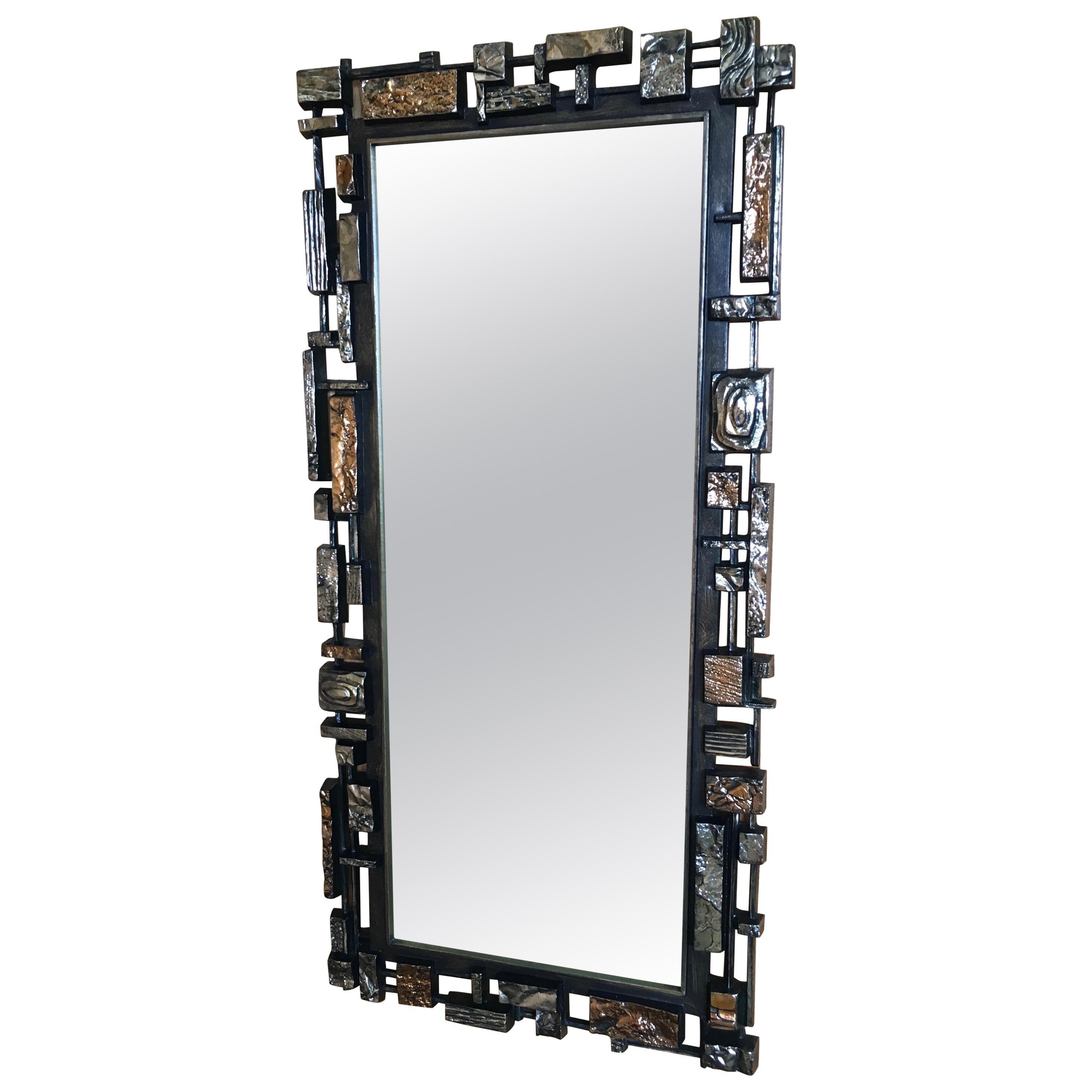 Brutalist Mirror by Syroco