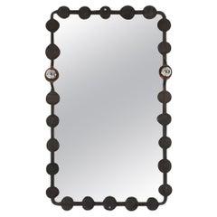 Brutalist Mirror with Lights Atelier Français