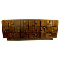 Brutalist Mosaic Pattern Dresser by Lane