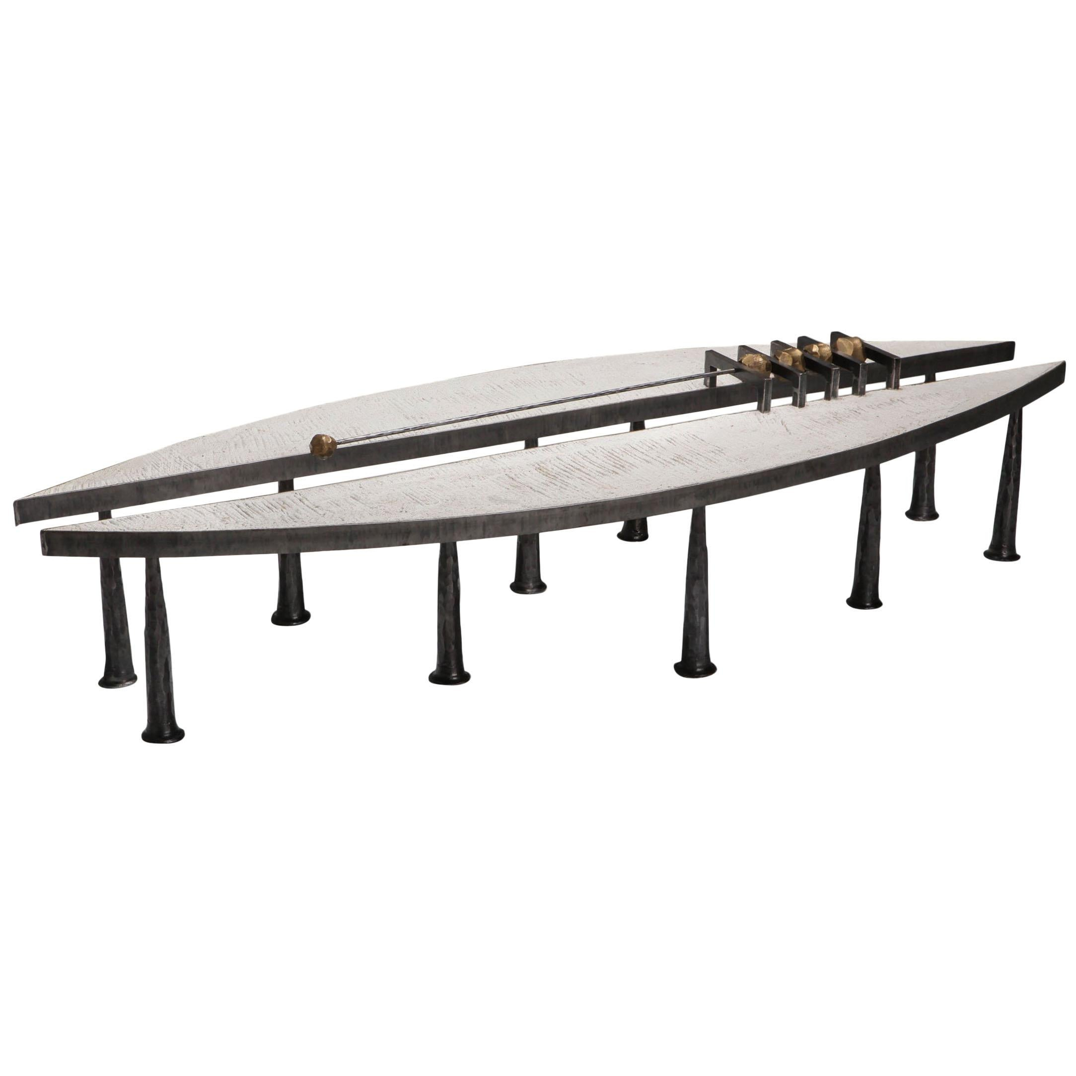 Brutalist One-of-a-Kind Coffee Table by Thomas Serruys