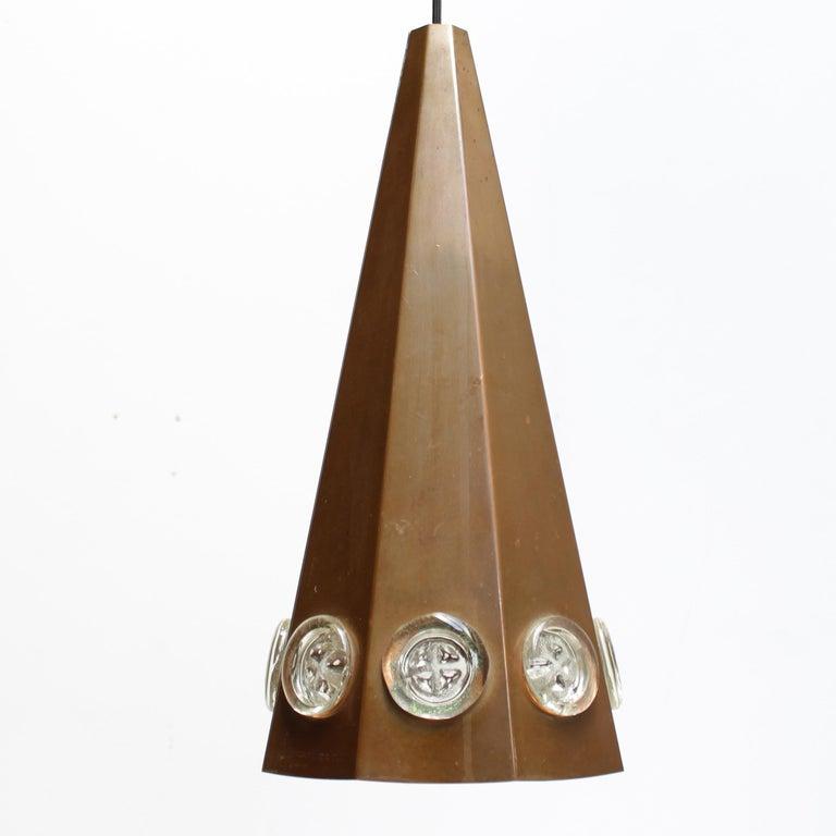 Brutalist Pendant by Hans Bergström and Erik Hoglund, Sweden For Sale 4