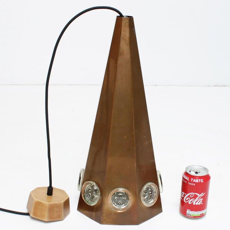 Brutalist Pendant by Hans Bergström and Erik Hoglund, Sweden For Sale 9