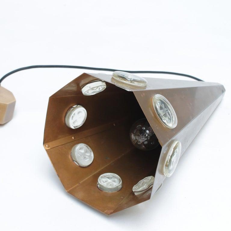 Brutalist Pendant by Hans Bergström and Erik Hoglund, Sweden For Sale 12