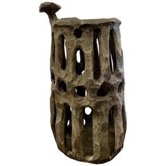 Brutalist Pottery Vessel