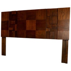 Brutalist School Mosaic Headboard by Lane