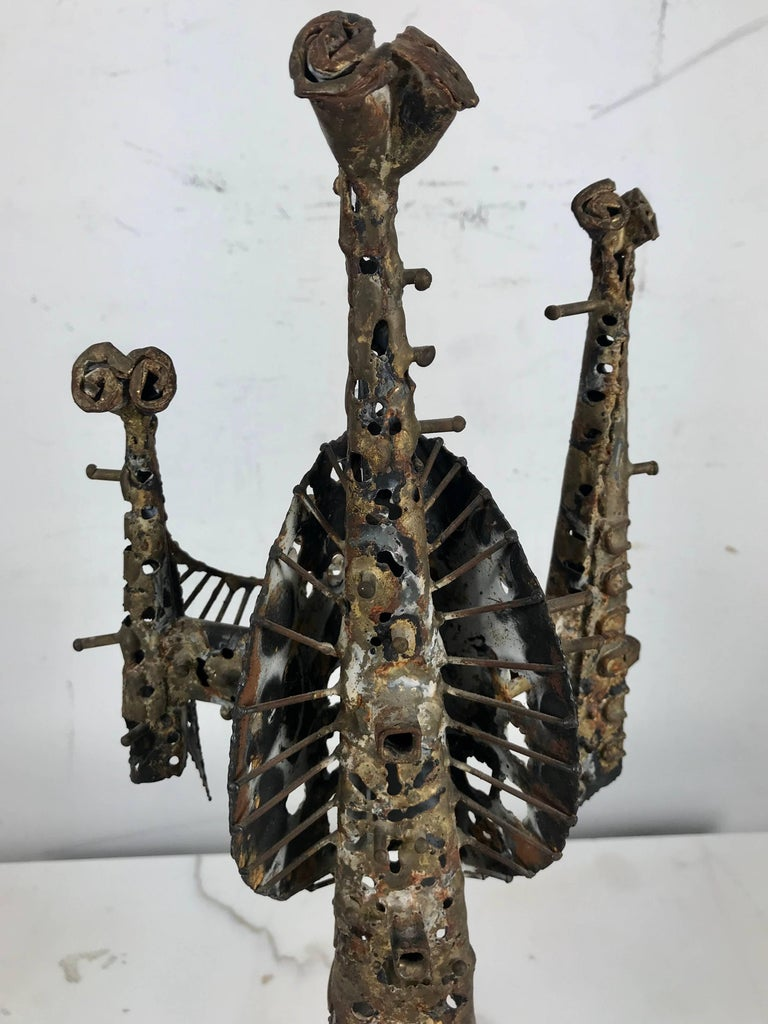 Hand-Crafted Brutalist Sculpture