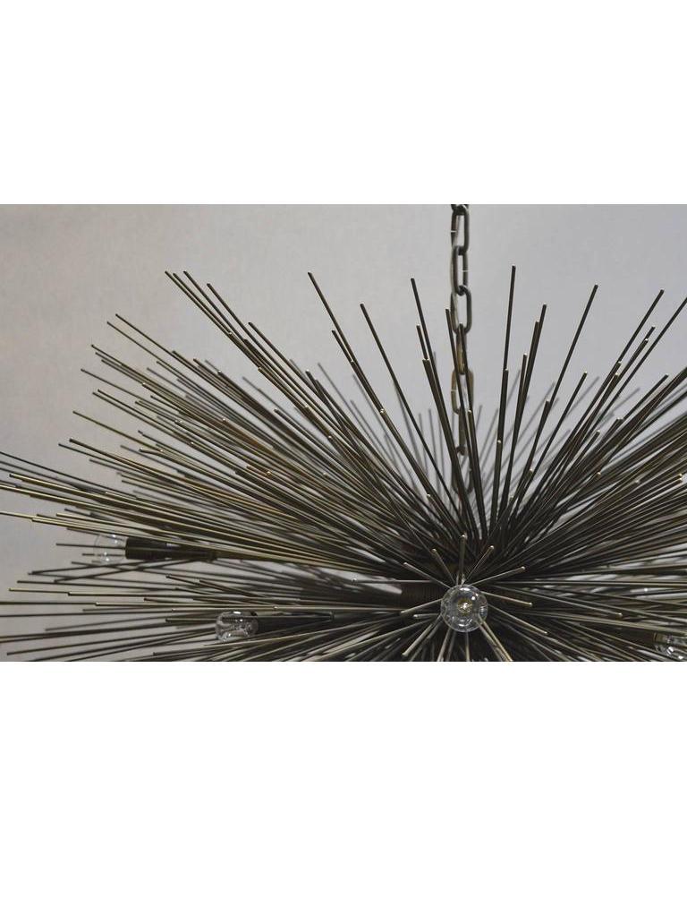 20th Century Brutalist Sputnik Chandelier For Sale