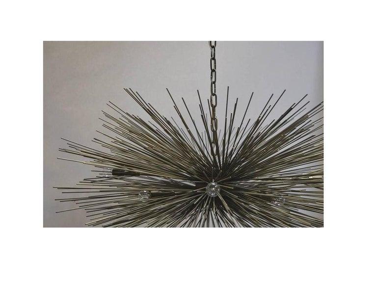 Brutalist Sputnik Chandelier For Sale 1