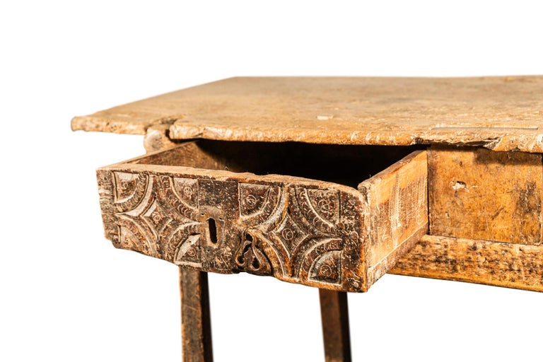 Brutalist Table, Spain, Late 18th Century For Sale 6
