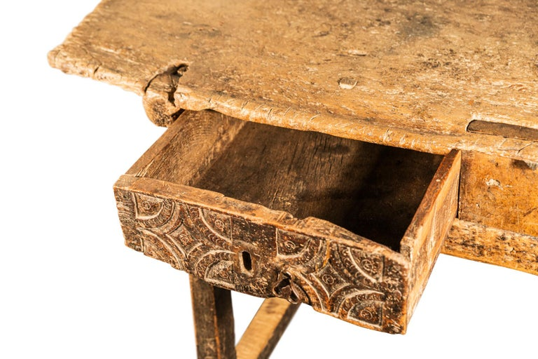 Brutalist Table, Spain, Late 18th Century For Sale 7