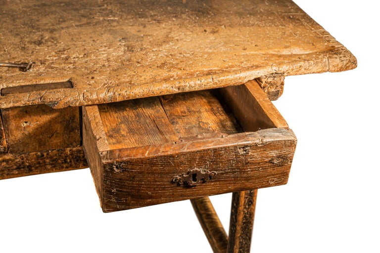 Brutalist Table, Spain, Late 18th Century For Sale 8