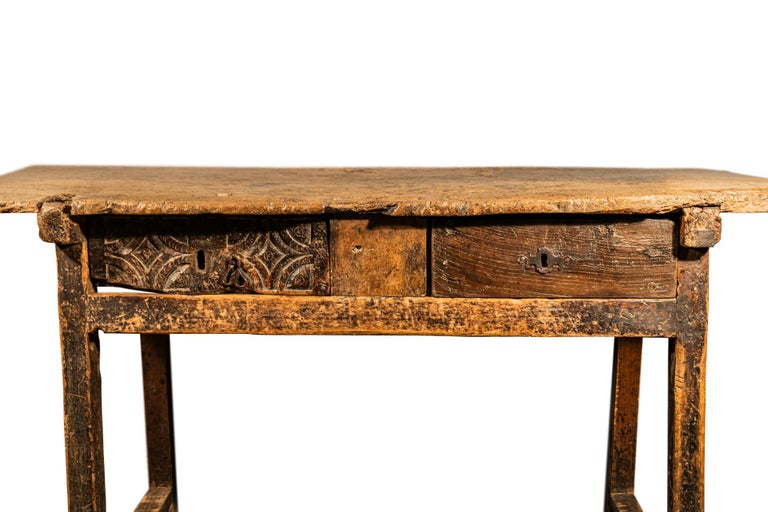 Mid-Century Modern Brutalist Table, Spain, Late 18th Century For Sale