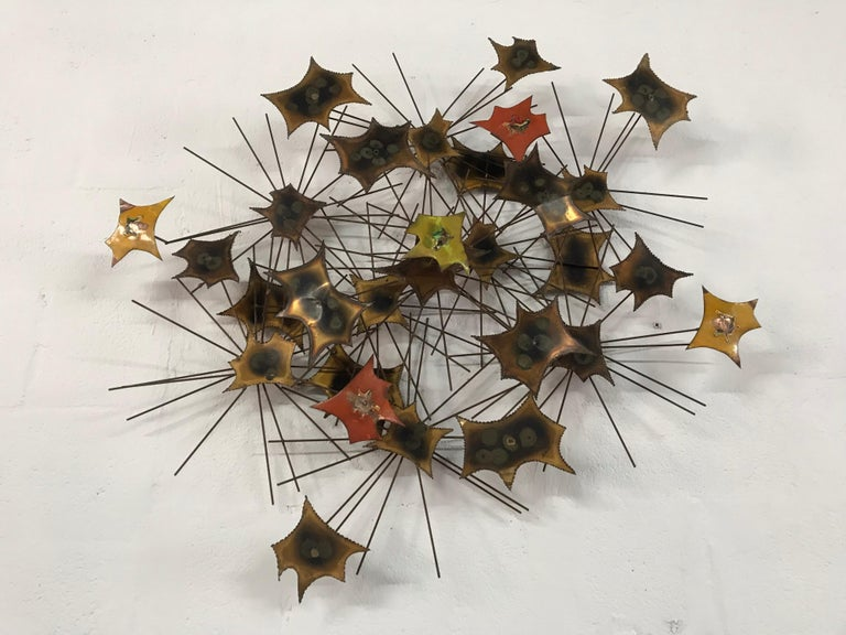 Mexican Brutalist Wall Sculpture by Jorge For Sale
