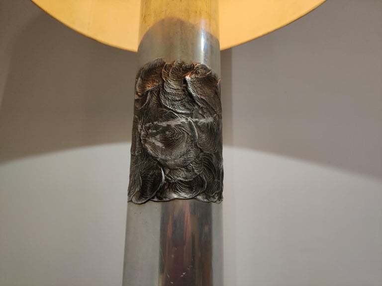 Brutalist Willy Luyckx Floor Lamp, 1970s For Sale 2