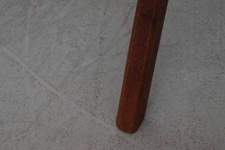 Brutalist Wood Lounge Chair 4