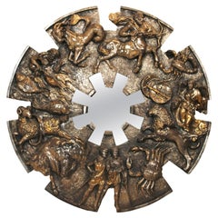Brutalist Zodiac Mirror by Finesse Originals