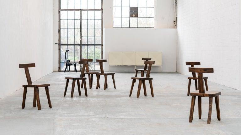 Brutalistic & Minimalistic T- Chair by Olavi Hänninen, 1958 for Mikko Nupponen For Sale 6