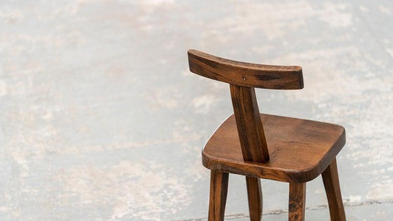 Brutalistic & Minimalistic T- Chair by Olavi Hänninen, 1958 for Mikko Nupponen For Sale 1